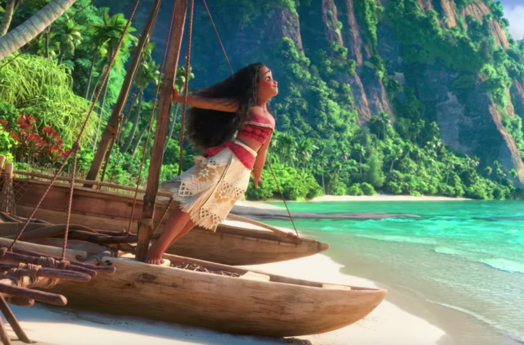 """MOANA New Featurette and a clip from the New Song """"We Are The Way"""
