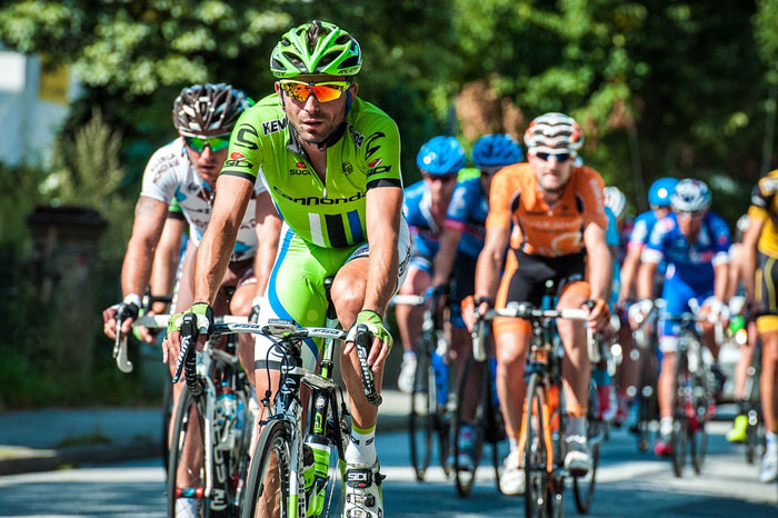 Cycling Sports And Body Fitness